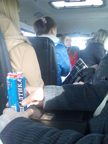 Приличный мужчина с пивом